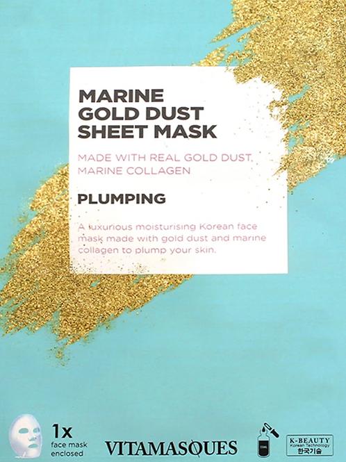 Marine Gold Mask