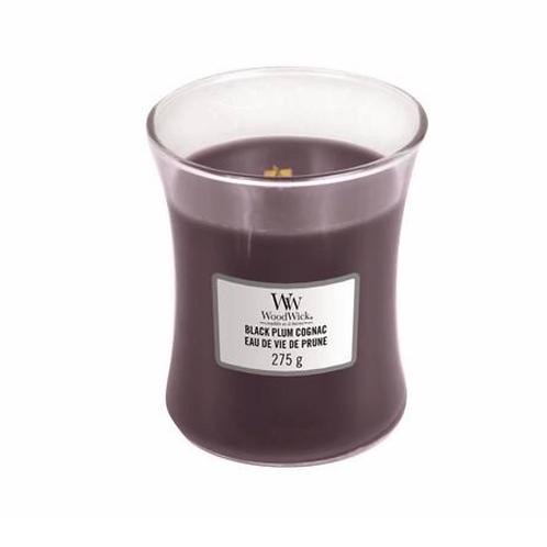 Woodwick Black Plum Cognac Candle
