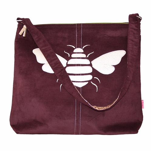 Gold Bee Shoulder Bag