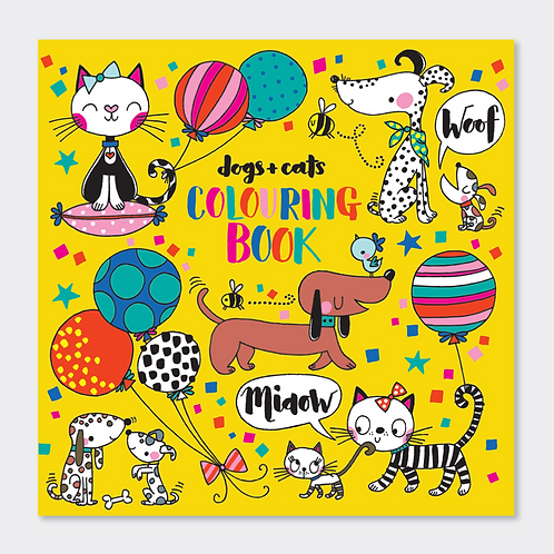DOGS & CATS COLOURING BOOK
