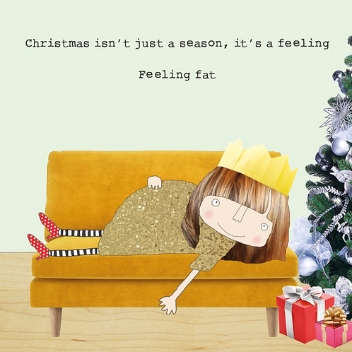 Feeling Fat Card