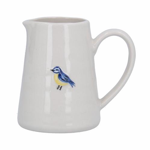 Ceramic Mini Jug 8cm - Blue Tit