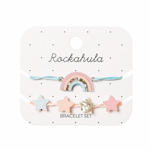 Sorbet Rainbow Bracelet Set