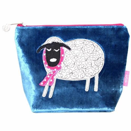 Winter Sheep Cosmetic Purse