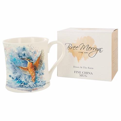 Bree Merryn Colourful Kingfisher Mug