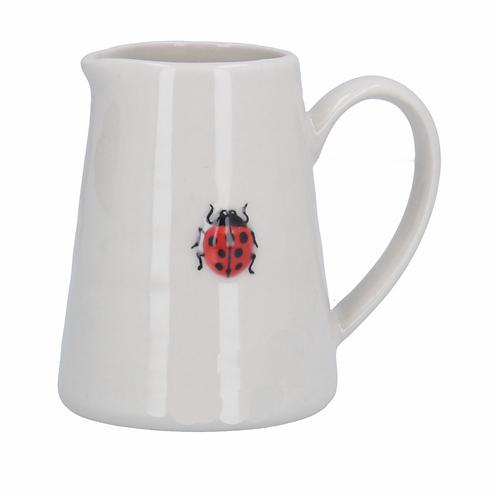 Ceramic Mini Jug - Ladybird