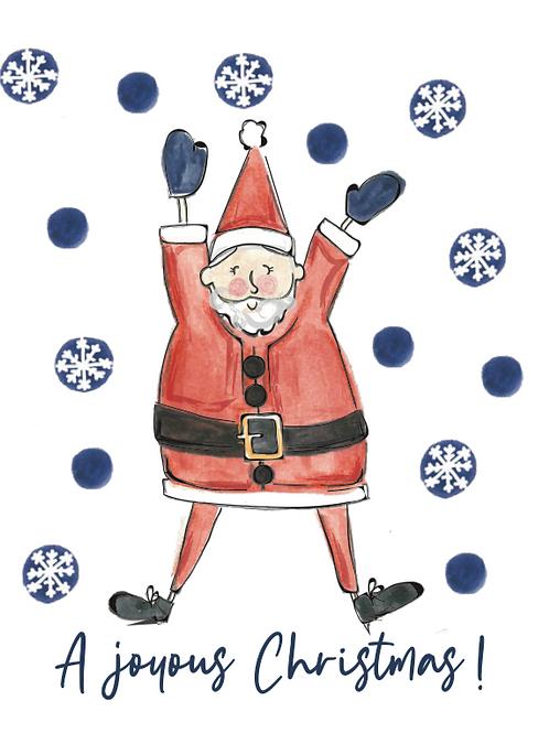 A Joyous Christmas Seed Card