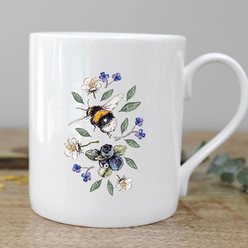 Wild Flower Meadows Bee Mug
