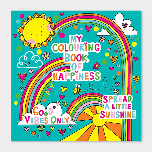 COLOURING BOOK OF HAPPINESS