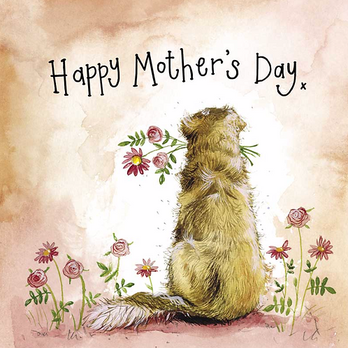 Sunshine Goldie Mother's Day Card