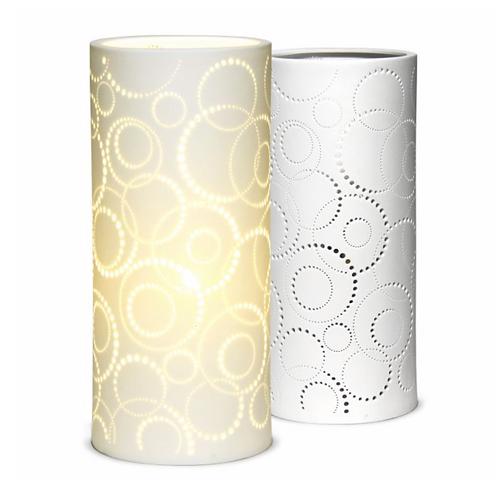 Ceramic Lamp – bubbles columna