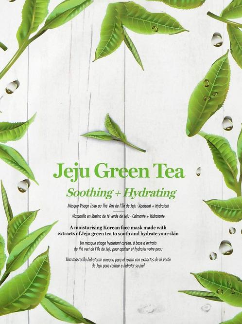 Jeju Green Tea Sheet Face Mask