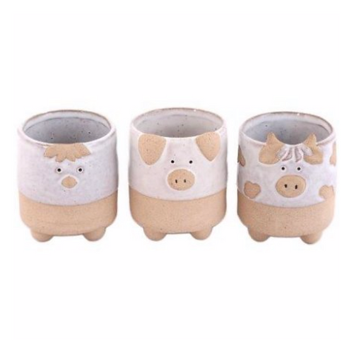 Farmyard Pot Pal Planters