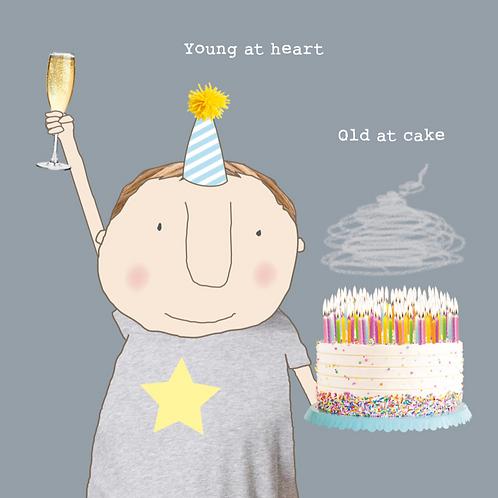 Old at Cake Boy