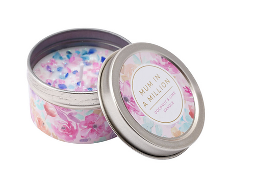 WITH LOVE 'MUM IN A MILLION' COCONUT & LIME CANDLE