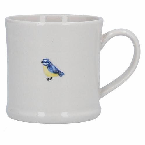 Ceramic Mini Mug 7cm - Blue Tit