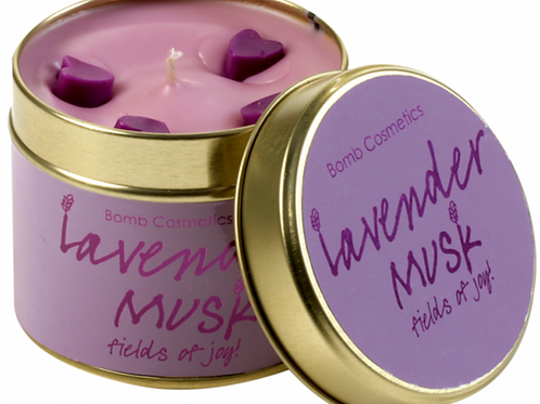 Lavender Musk Candle