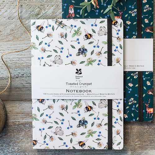 Wild Flower Meadows Pure A5 Lined Notebook