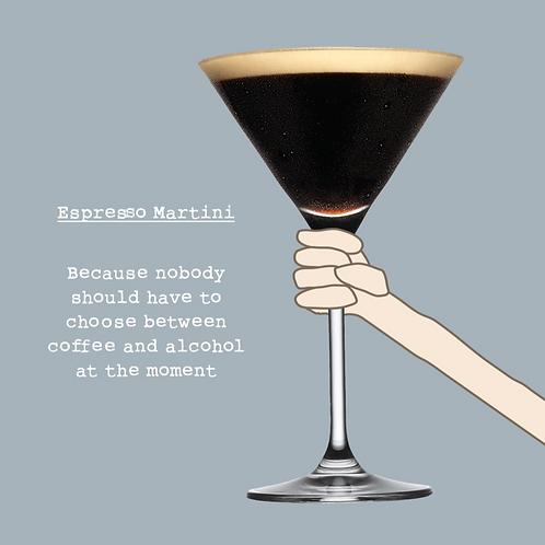 Espresso Martini Card