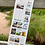 Thumbnail: Beside the Sea 2022 Slim Wall Calendar