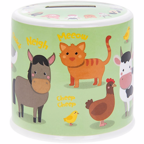 Little Stars Farmyard Money Box