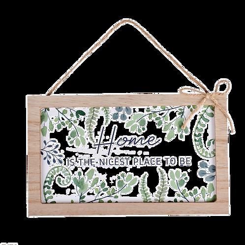 Leaf Framed Plaque