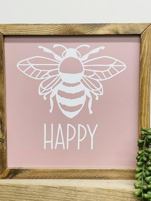 Bee Happy - Ltd Edition Pink