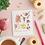 Thumbnail: Birthday treats – plantable chamomile seed card