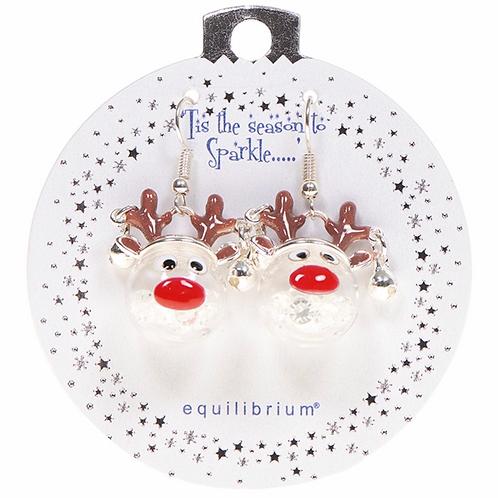 Xmas Fun Earrings Reindeer