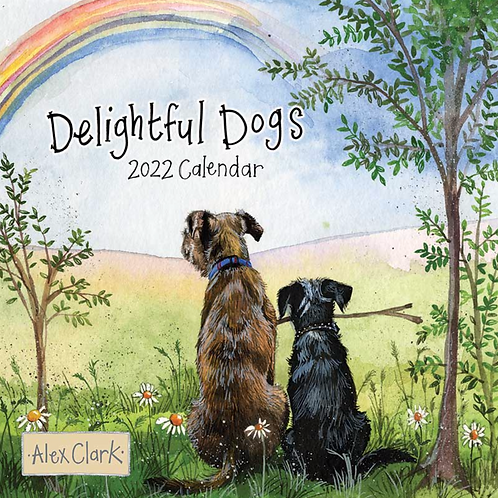 Delightful Dogs 2022 Calendar