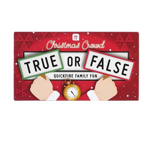 Christmas Entertainment True or False