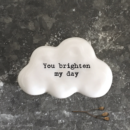 Cloud token-You brighten my day