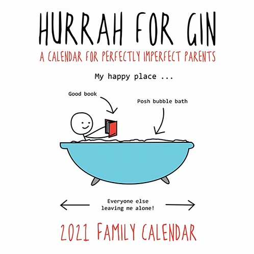 HURRAH FOR GIN 2021 Family Calendar