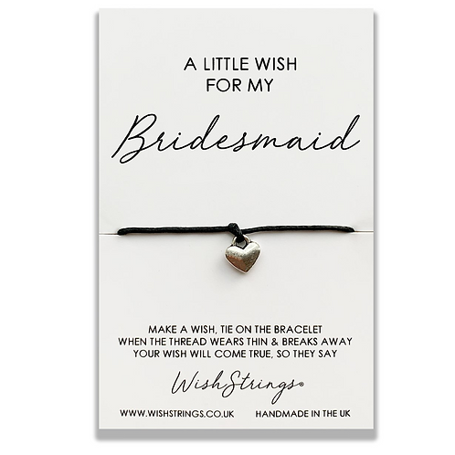 Little Wish Bridesmaid Wishstring