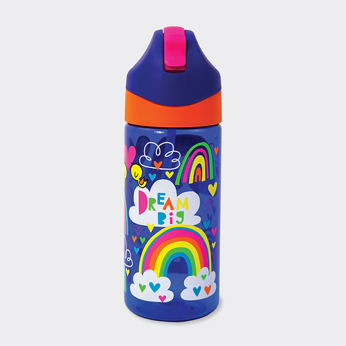 DRINKS BOTTLE WITH STRAW – DREAM BIG