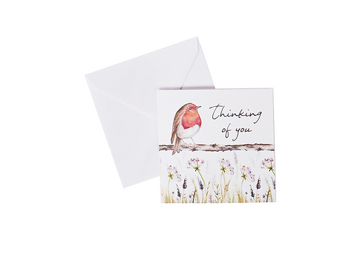 Robin Thinking of you Card