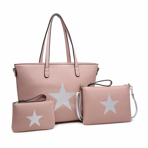 Lilia 3 in 1 Star Bag-Nude