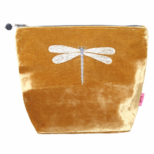 Dragonfly Large Cosmetic Purse