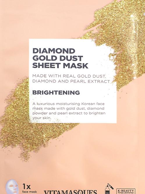 Diamond Gold Mask