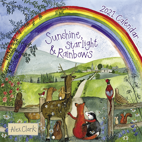 Sunshine, Starlight & Rainbows 2021 Calendar