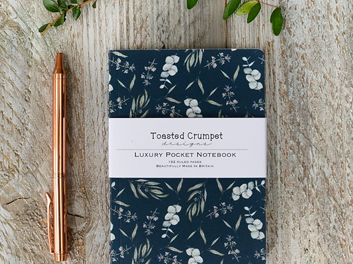 Eucalyptus Noir A6 Lined Pocket Notebook