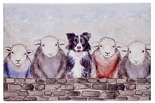 SHEEP & DOG PLACEMAT