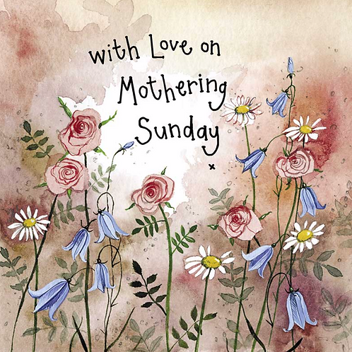 Sunshine Meadow Mother's Day Card