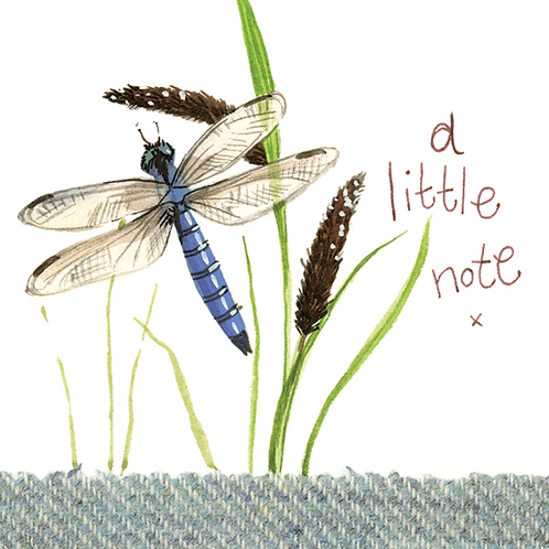 Dragonfly Little Note Card