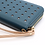 Thumbnail: Blue purse with rose gold star