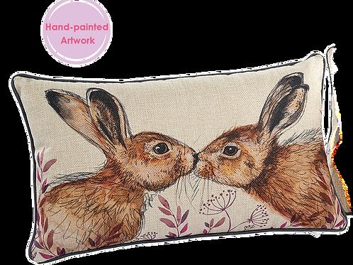 2 Hare Cushion