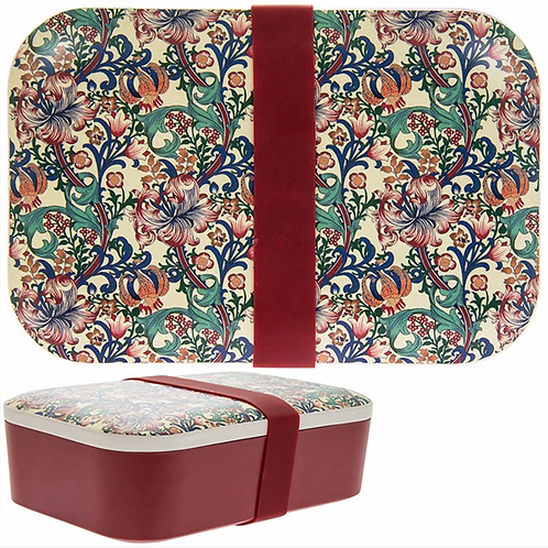 William Morris Golden Lily Lunch Box