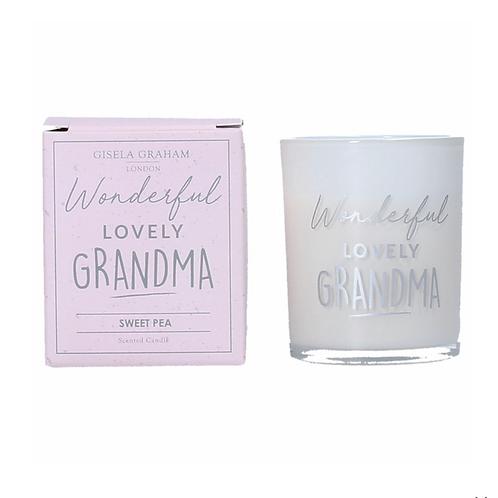 Boxed Sentiment Votive Candle - Grandma