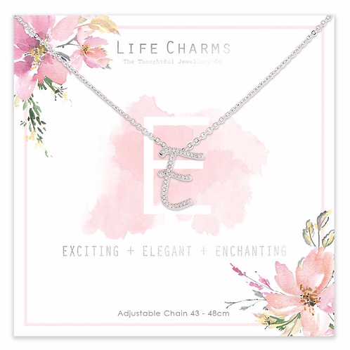 E is for...Necklace