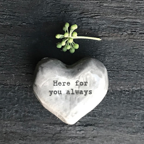 Heart token-Here for you always